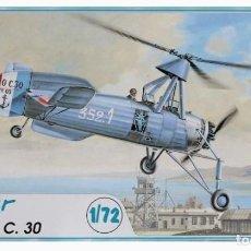 Maquetas: CIERVA C.30 AZUR 1/72. Lote 194903386