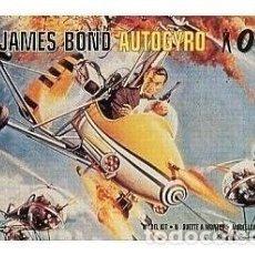 Maquetas: JAMES BOND AUTOGYRO 007 AIRFIX 1/24 . Lote 194903550