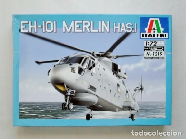 EH 101 MERLIN HAS.1 ITALERI 1/72 (Juguetes - Modelismo y Radiocontrol - Maquetas - Militar)