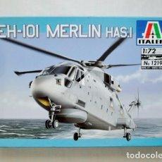 Maquetas: EH 101 MERLIN HAS.1 ITALERI 1/72. Lote 194903846