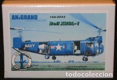 BELL XHSL-1 U.S. NAVY ANTI-SUBMARINE ANIGRAND 1/72 (Juguetes - Modelismo y Radiocontrol - Maquetas - Militar)