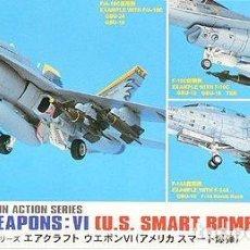 Maquetas: AIRCRAFT WEAPONS VI U.S. BOMBS HASEGAWA 1/72. Lote 194904616
