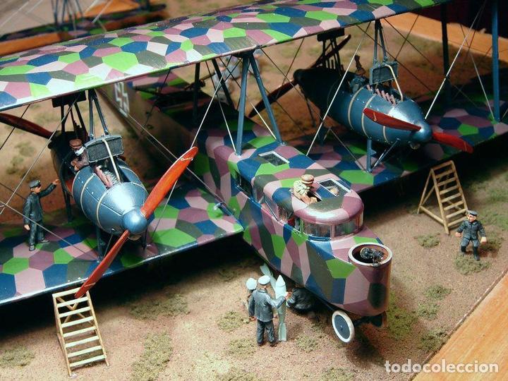 Maquetas: Zeppelin STAAKEN R.VI GERMAN WWI BOMBER 1:72 ROODEN RO 055 maqueta avión - Foto 6 - 194905441