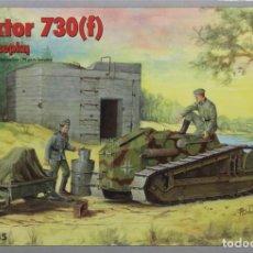 Maquetas: MAQUETA CARRO FT-17 - PANZERKAMPFWAGEN 730(F), REF. 35064, 1/35, RPM. Lote 194961685
