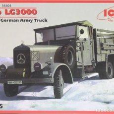 Maquetas: MAQUETA CAMIÓN MERCEDES LG 3000, REF. 35405, 1/35, ICM . Lote 194962800