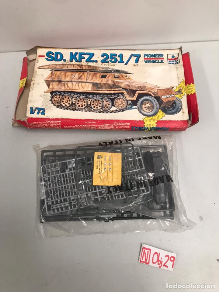 SD KFZ 251/7 (Juguetes - Modelismo y Radiocontrol - Maquetas - Militar)