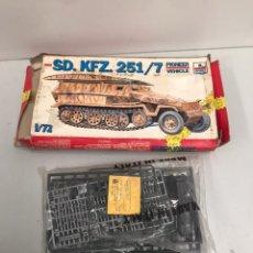 Maquetas: SD KFZ 251/7. Lote 194971616