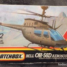Maquetas: BELL OH-58D KIOWA AEROSCOUT (ESPAÑOLIZABLE) 1:72 MATCHBOX PK-43 MAQUETA HELICOPTERO AVION. Lote 195003580