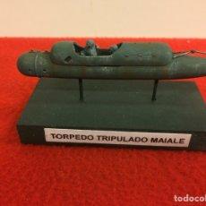 Maquetas: TORPEDO TRIPULALO MAIALE. Lote 195055473