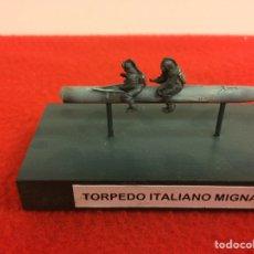 Maquetas: TORPEDO ITALIANO MIGNATA. Lote 195055533
