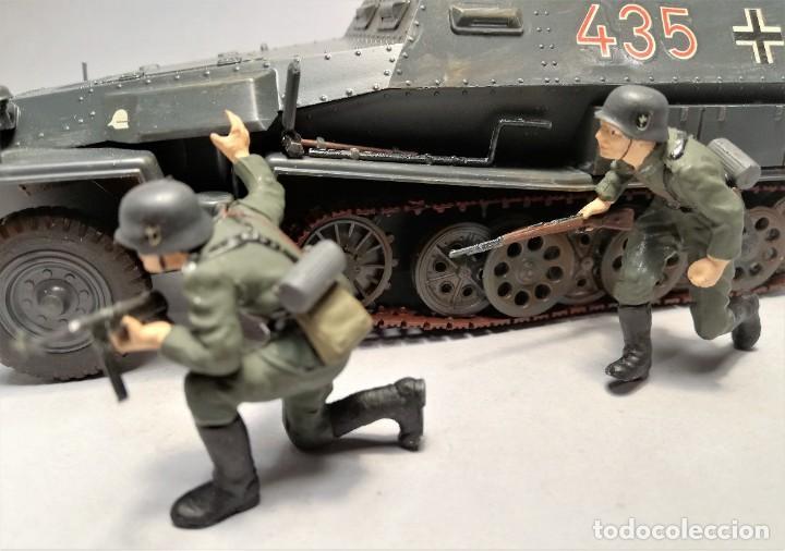 Maquetas: TAMIYA Escala 1:35. Vehículo alemán Hanomag SdKfz 251/1. Con 4 figuras. - Foto 2 - 195062780