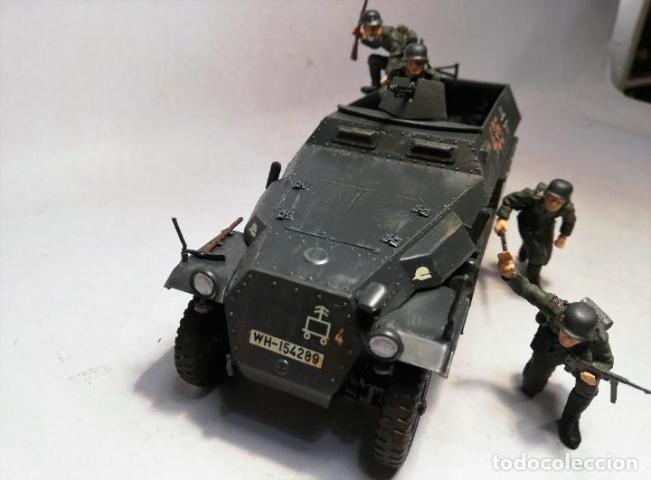 Maquetas: TAMIYA Escala 1:35. Vehículo alemán Hanomag SdKfz 251/1. Con 4 figuras. - Foto 3 - 195062780