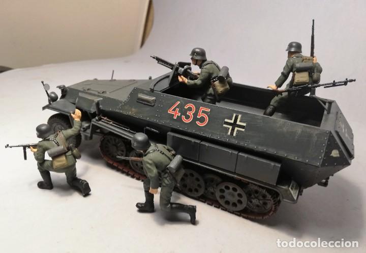 Maquetas: TAMIYA Escala 1:35. Vehículo alemán Hanomag SdKfz 251/1. Con 4 figuras. - Foto 4 - 195062780