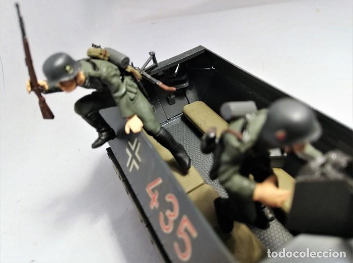 Maquetas: TAMIYA Escala 1:35. Vehículo alemán Hanomag SdKfz 251/1. Con 4 figuras. - Foto 5 - 195062780