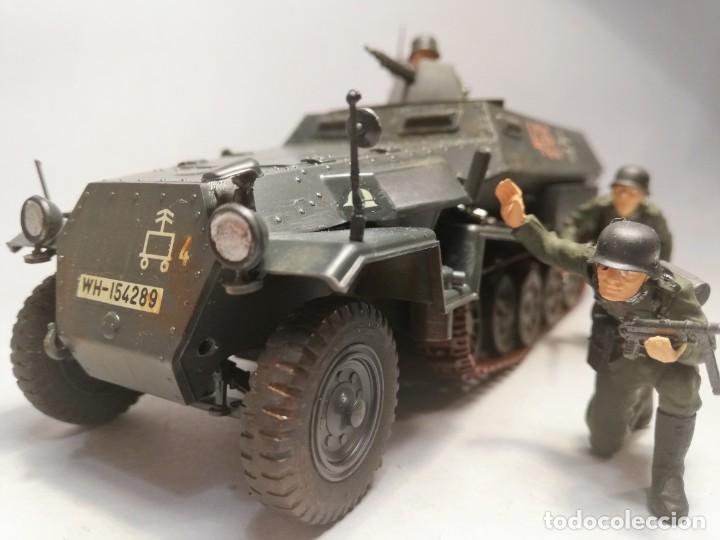 Maquetas: TAMIYA Escala 1:35. Vehículo alemán Hanomag SdKfz 251/1. Con 4 figuras. - Foto 6 - 195062780