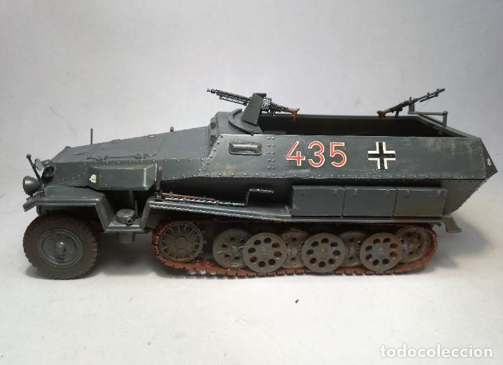 Maquetas: TAMIYA Escala 1:35. Vehículo alemán Hanomag SdKfz 251/1. Con 4 figuras. - Foto 7 - 195062780
