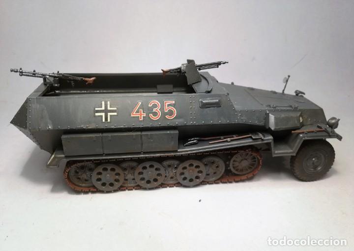 Maquetas: TAMIYA Escala 1:35. Vehículo alemán Hanomag SdKfz 251/1. Con 4 figuras. - Foto 8 - 195062780