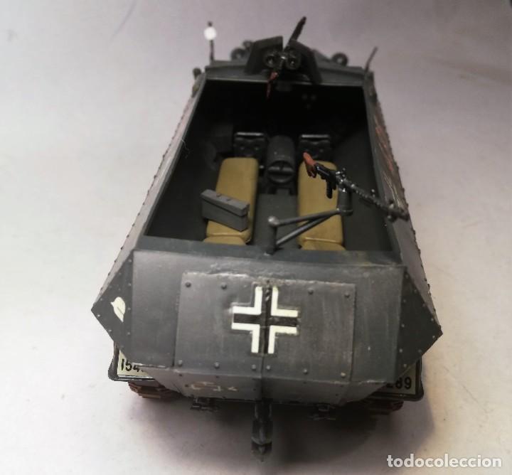 Maquetas: TAMIYA Escala 1:35. Vehículo alemán Hanomag SdKfz 251/1. Con 4 figuras. - Foto 9 - 195062780