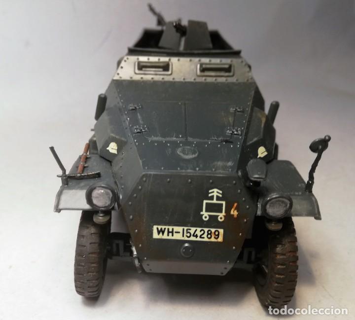 Maquetas: TAMIYA Escala 1:35. Vehículo alemán Hanomag SdKfz 251/1. Con 4 figuras. - Foto 10 - 195062780