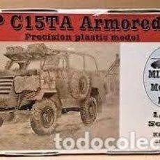 Maquetas: MAQUETA 1/35 - CMP CHEVROLET C15TA ARMORED CARRIER MIRROR MODELS - NO. 35100 - 1:35. Lote 195076108