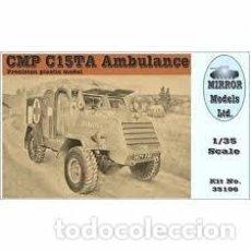 Maquetas: MAQUETA 1/35 - CMP C15TA ARMORED AMBULANCE MIRROR MODELS - NO. 35106 - 1:35. Lote 195076225
