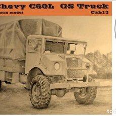 Maquetas: MAQUETA 1/35 - CMP CHEVY C60L GS TRUCK CAB 13 MIRROR MODELS - NO. 35161 - 1:35. Lote 195076388