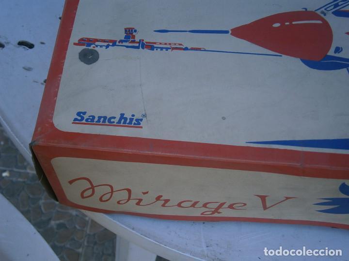 Maquetas: ¡¡¡¡caja vacia¡¡ mirage¡¡¡avion mirage V ¡¡¡CAJA VACIA AÑOS 60 70 - Foto 3 - 195109983