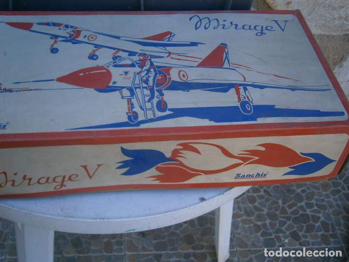 Maquetas: ¡¡¡¡caja vacia¡¡ mirage¡¡¡avion mirage V ¡¡¡CAJA VACIA AÑOS 60 70 - Foto 4 - 195109983