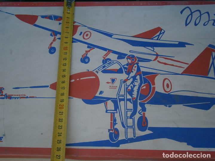 Maquetas: ¡¡¡¡caja vacia¡¡ mirage¡¡¡avion mirage V ¡¡¡CAJA VACIA AÑOS 60 70 - Foto 5 - 195109983