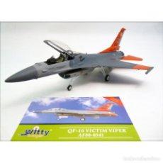 Maquetas: AVIÓN USAF F-16 VICTIM VIPER AF80-0541, 1:72, WITTY WINGS. Lote 195125535