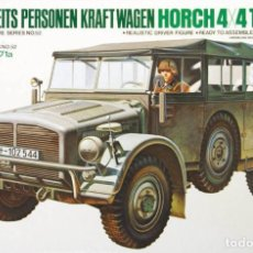 Maquetas: HORCH 4X4 TYPE 1A TAMIYA 1/35 MAS FOTOGRABADO ROYAL MODEL 318. Lote 195236021