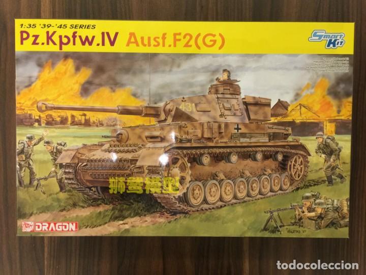 PZ.KPFW.IV AUSF.F2(G) DRAGON 1/35 MAS FOTOGRABADO ABER Y CAÑON J RUBIO (Juguetes - Modelismo y Radiocontrol - Maquetas - Militar)