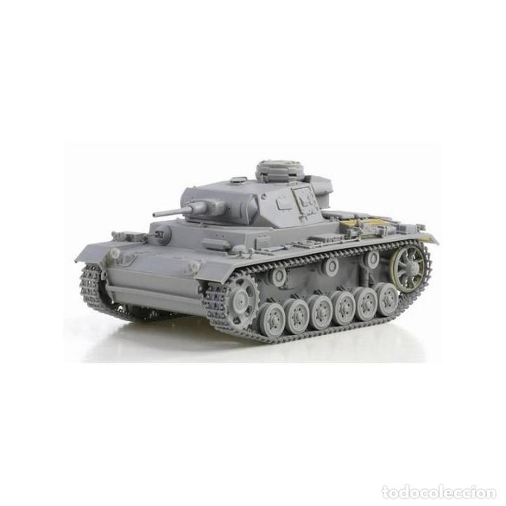 Maquetas: Pz.Kpfw.III Ausf.J (Tp) Early Production DRAGON 1/35 mas FOTOGRABADO EDUARD Y CAÑON J RUBIO - Foto 2 - 195239027