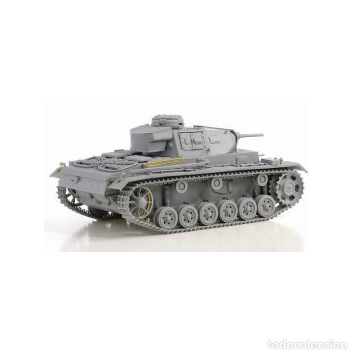 Maquetas: Pz.Kpfw.III Ausf.J (Tp) Early Production DRAGON 1/35 mas FOTOGRABADO EDUARD Y CAÑON J RUBIO - Foto 3 - 195239027