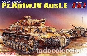 PZ.KPFW.IV AUSF.E 3-IN-1 DRAGON 1/35 MAS FOTOGRABADO VOYAGER MODEL 35079 (Juguetes - Modelismo y Radiocontrol - Maquetas - Militar)