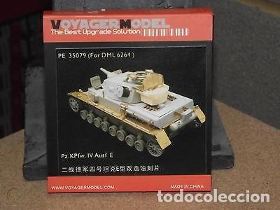 Maquetas: Pz.Kpfw.IV Ausf.E 3-in-1 DRAGON 1/35 mas FOTOGRABADO VOYAGER MODEL 35079 - Foto 2 - 195239501