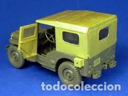 Maquetas: Jeep Willys MB 1/4ton 4X4 Truck 1/35 mas MINOR AVC35000 - Foto 3 - 195241458