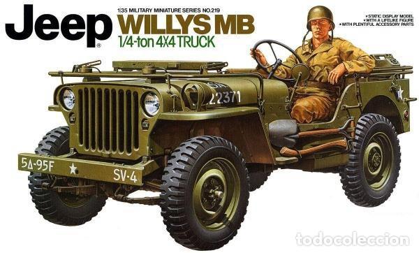 JEEP WILLYS MB 1/4TON 4X4 TRUCK 1/35 MAS MINOR AVC35001 (Juguetes - Modelismo y Radiocontrol - Maquetas - Militar)