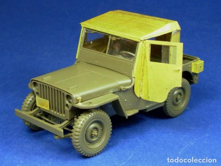 Maquetas: Jeep Willys MB 1/4ton 4X4 Truck 1/35 mas MINOR AVC35001 - Foto 2 - 195241697