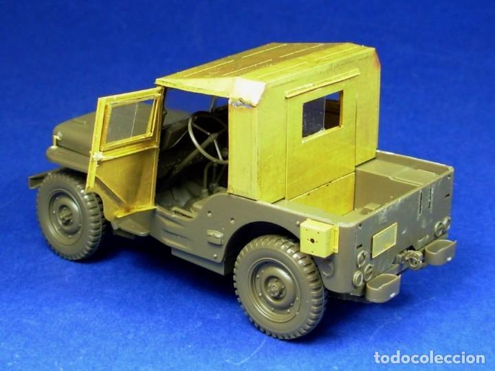 Maquetas: Jeep Willys MB 1/4ton 4X4 Truck 1/35 mas MINOR AVC35001 - Foto 3 - 195241697
