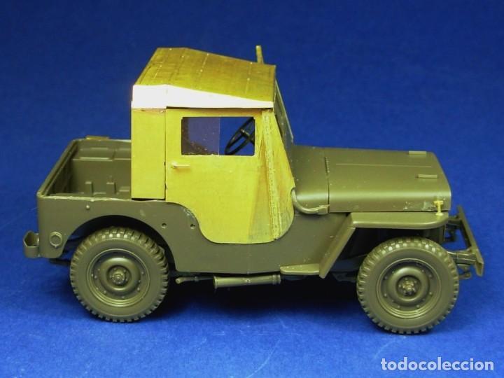 Maquetas: Jeep Willys MB 1/4ton 4X4 Truck 1/35 mas MINOR AVC35001 - Foto 4 - 195241697