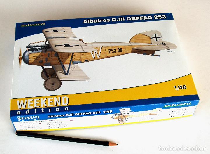 EDUARD KIT 1:48 (EDICIÓN 2012) • ALBATROS D.III SERIE OEFFAG 253 (ALEMANIA, 1ª GUERRA MUNDIAL 1917) (Juguetes - Modelismo y Radio Control - Maquetas - Aviones y Helicópteros)