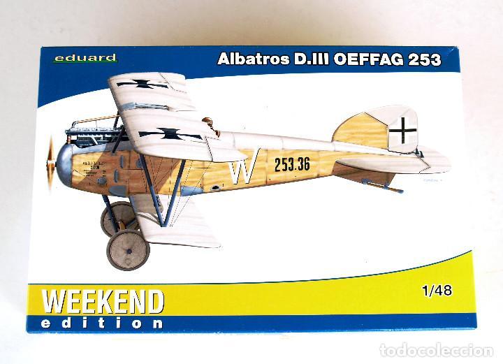 Maquetas: EDUARD Kit 1:48 (EDICIÓN 2012) • ALBATROS D.III Serie Oeffag 253 (Alemania, 1ª Guerra Mundial 1917) - Foto 4 - 195300420