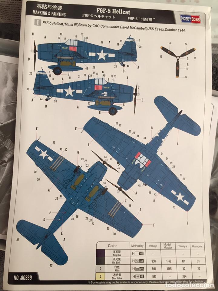 Maquetas: F6F-5 HELLCAT 1:48 HOBBY BOSS 80339 maqueta avión - Foto 2 - 195305683