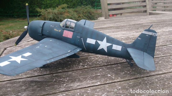 Maquetas: F6F-5 HELLCAT 1:48 HOBBY BOSS 80339 maqueta avión - Foto 5 - 195305683