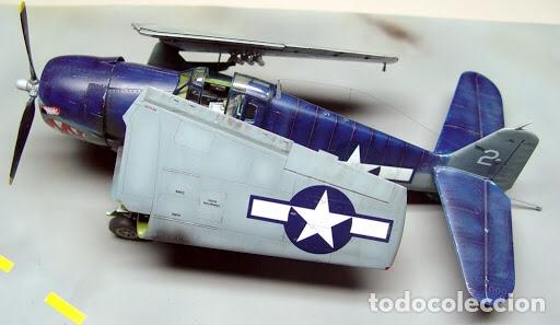 Maquetas: F6F-5 HELLCAT 1:48 HOBBY BOSS 80339 maqueta avión - Foto 7 - 195305683