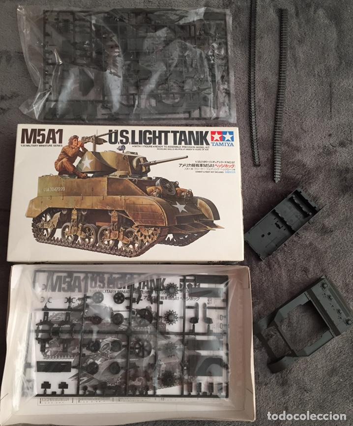 Maquetas: M5A1 STUART U.S. Light Tank 1:35 TAMIYA maqueta carro - Foto 2 - 195311066