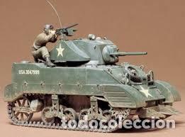 Maquetas: M5A1 STUART U.S. Light Tank 1:35 TAMIYA maqueta carro - Foto 4 - 195311066