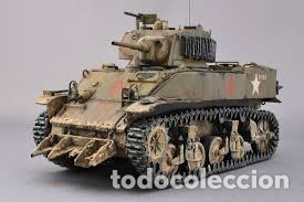 Maquetas: M5A1 STUART U.S. Light Tank 1:35 TAMIYA maqueta carro - Foto 5 - 195311066