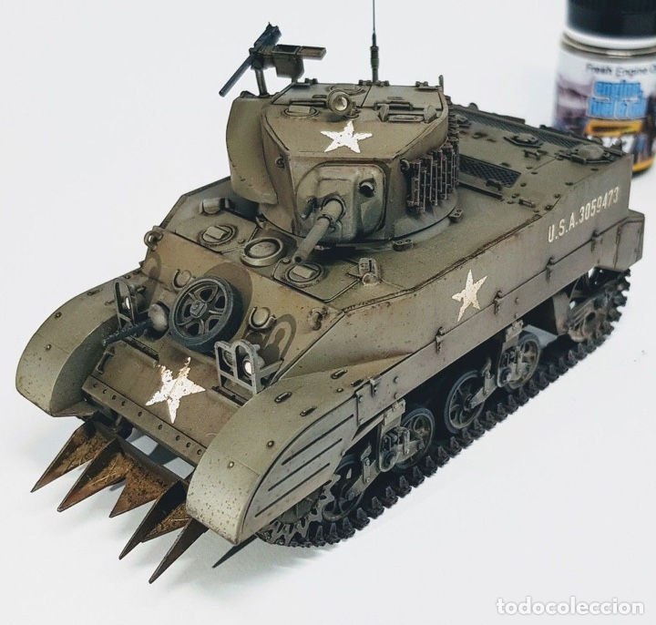 Maquetas: M5A1 STUART U.S. Light Tank 1:35 TAMIYA maqueta carro - Foto 6 - 195311066